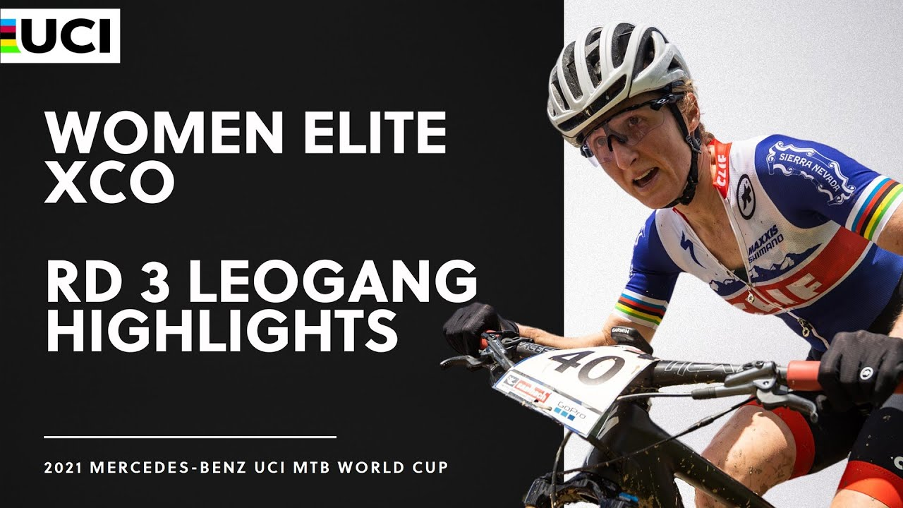 Download Round 3 - Women Elite XCO Leogang Highlights | 2021 Mercedes-Benz UCI MTB World Cup
