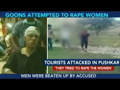 Tourists Attacked In Pushkar By Locals