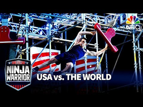Sean Bryan's Stage 2 Run - American Ninja Warrior: USA vs. The World