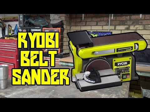Just gonna sand it! | Ryobi Belt Sander | NTT E08