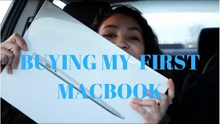 BUYING MY MACBOOK AIR | UNBOXING | VLOG