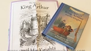King Arthur and His Knights Unit Study & Lapbook Thumbnail