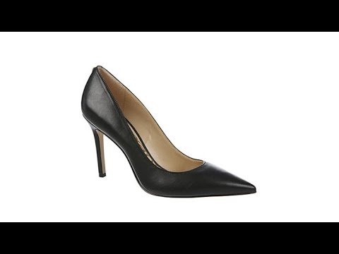 a832022e93 Sam Edelman Hazel Leather Pointed Toe Pump - YouTube