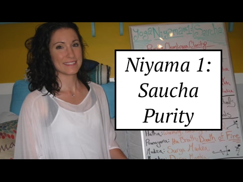"""Yoga Board"" Niyama 1: Saucha- Cleanliness & Purity: LauraGyoga"