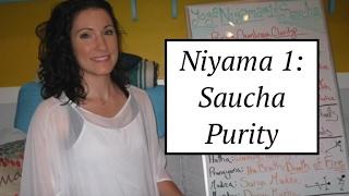 """Yoga Board"" Niyama 1: Saucha- Cleanliness & Purity: LauraGyoga"