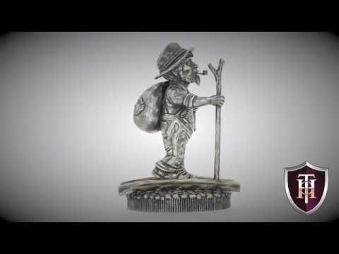Hobo Nickels:  The Walking Hobo statue