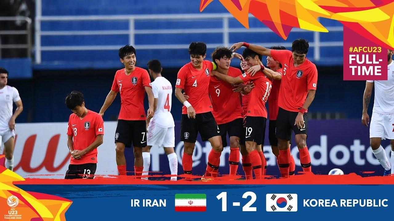 #AFCU23 M13 : ISLAMIC REPUBLIC OF IRAN 1 - 2 KOREA REPUBLIC : HIGHLIGHTS