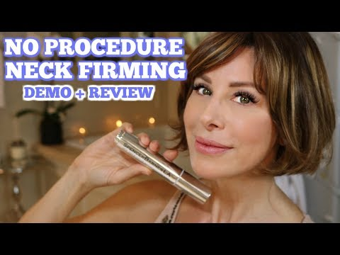 Procedure-free Neck Firming  Demo + Review | Dominique Sachse
