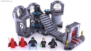 LEGO Star Wars Death Star Final Duel + NEW Vader reviewed! 75093