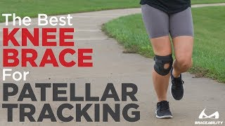 BraceAbility Patellar Tracking Knee Brace (Kneecap Dislocation Recovery & Tendonitis Treatment!)