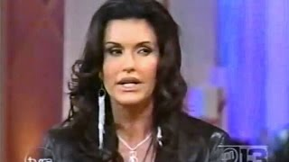 Janice Dickinson on Tyra Banks Show