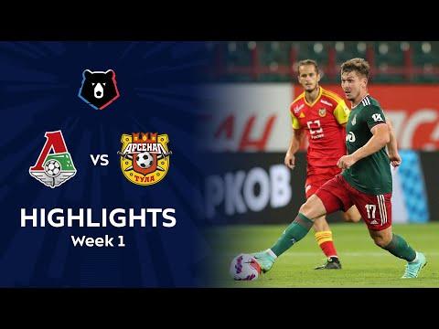 Lokomotiv Moscow Arsenal Tula Goals And Highlights