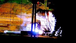 Сварка. Процесс Сварки. Сварщики за Работой. Сварка Видео. Футажи для видеомонтажа(Автор: Александра Лихачёва. http://positivecreativ.ru Сварка. Процесс Сварки. Сварщики за Работой. Сварка Видео. Футажи..., 2016-04-16T20:55:27.000Z)