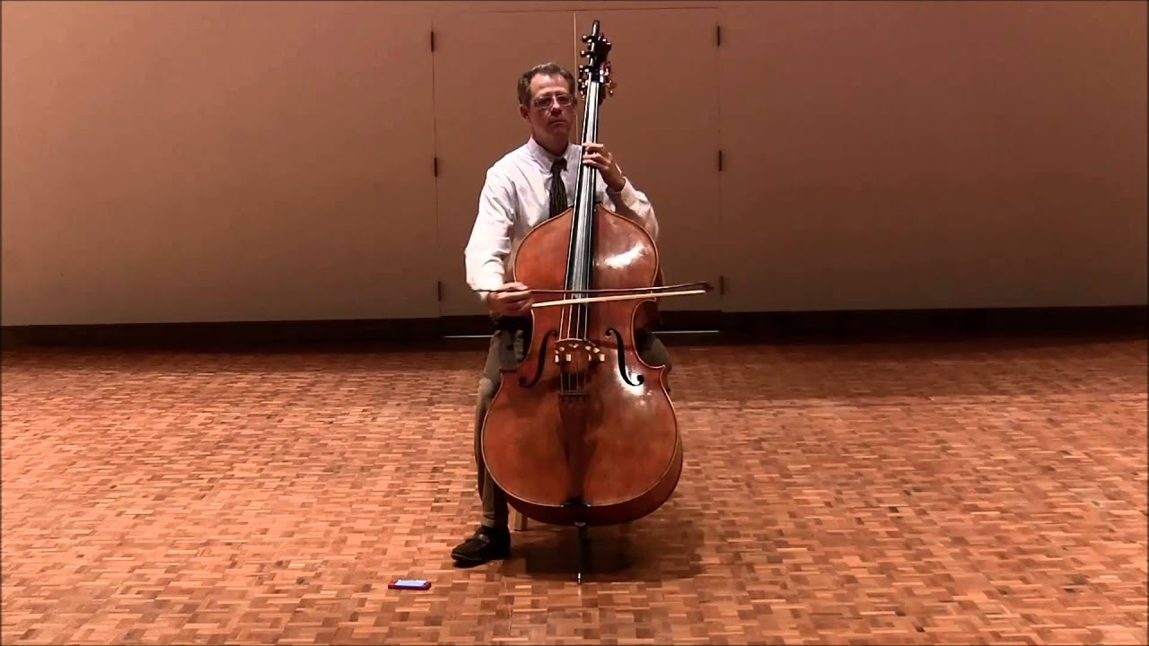 Double Bass Excerpts - Mozart Symphony No  40