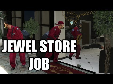 Grand theft auto v the bureau raid fire crew doovi for Bureau raid crew