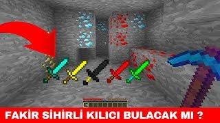ZENGİN VS FAKİR #215 - Fakir Sihirli Kılıcı Bulacak mı? (Minecraft)