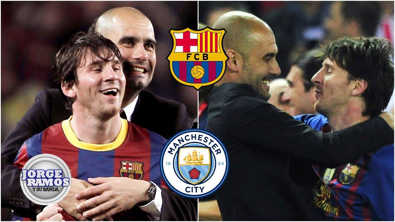LO ÚLTIMO Pep Guardiola llamó a Lionel Messi. ¿Qué le dijo? ¿Messi se va? | Jorge Ramos y Su Banda