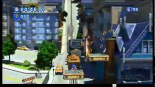 Sonic Generations - City Escape Classic Gameplay