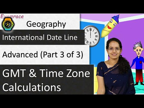 🌎 GMT And Time Zone Calculations (International Date Line - Date Changes) - Advanced (Part 3 Of 3)