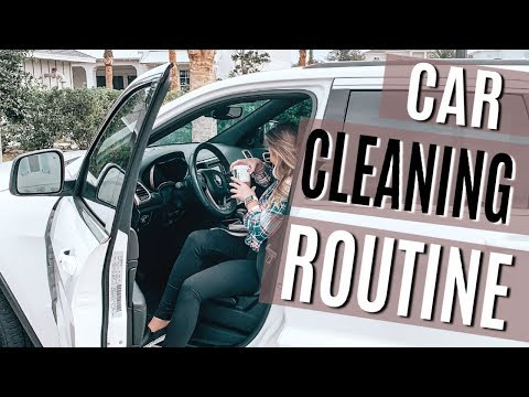 CAR CLEANING ROUTINE & CAR CLEANING HACKS | EXTREME CLEANING MOTIVATION ♡ nessabugblogs