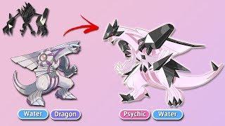 What if Necrozma Infęcted Other Legendaries? Fanmade Pokémon (Part 1)