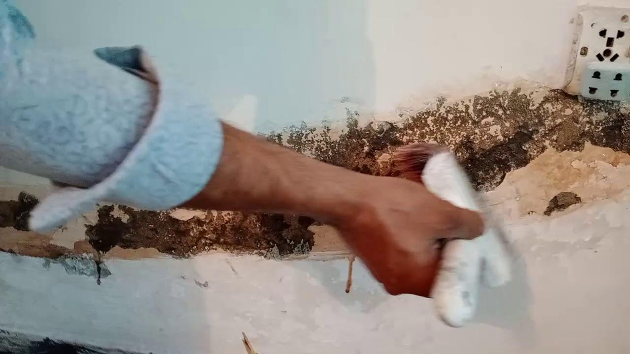Wall seepage treatment 03067522220