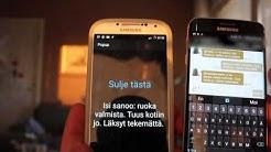 Android Tasker projekti: Sano SMS