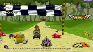 Wacky Races Championship Mode (PC Version)