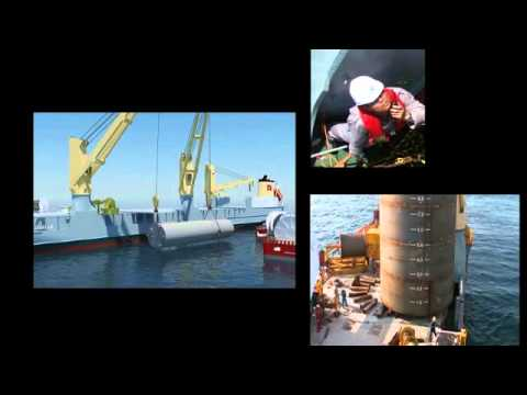 SAL Offshore: MV Annette, MA-D6 Project - Loading and Discharging Manifolds and Suction Piles