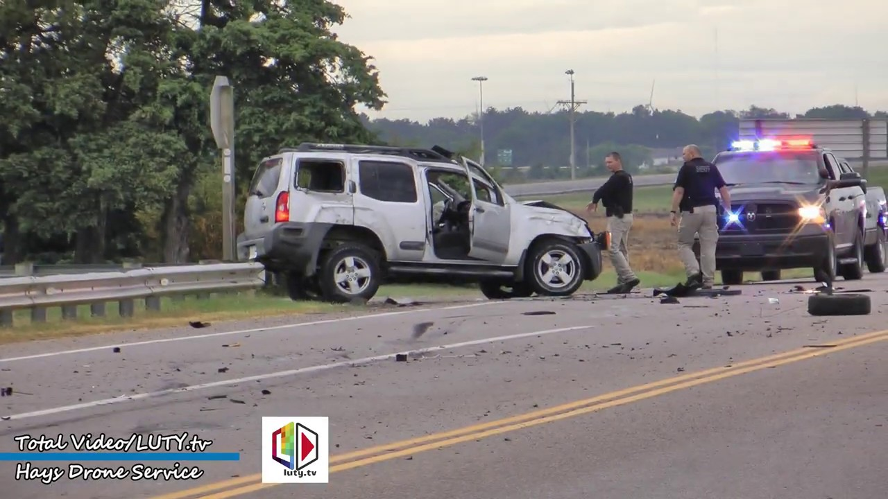 Injury Accident at Highway 183 Bypass and Gross Memorial Coliseum  Hays, KS  6/18/19