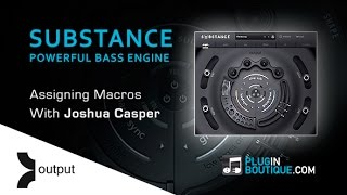 Output SUBSTANCE Kontakt Instrument - Assigning Macro Controls