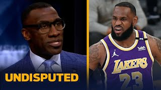 If LeBron James isn't healthy for playoffs, the Lakers aren't winning - Shannon | NBA | UNDISPUTED