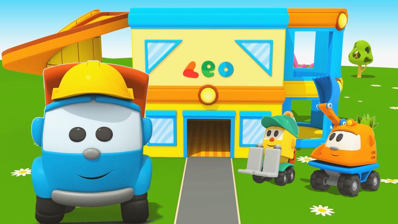 Cartoni animati per bambini leo junior e la sua nuova