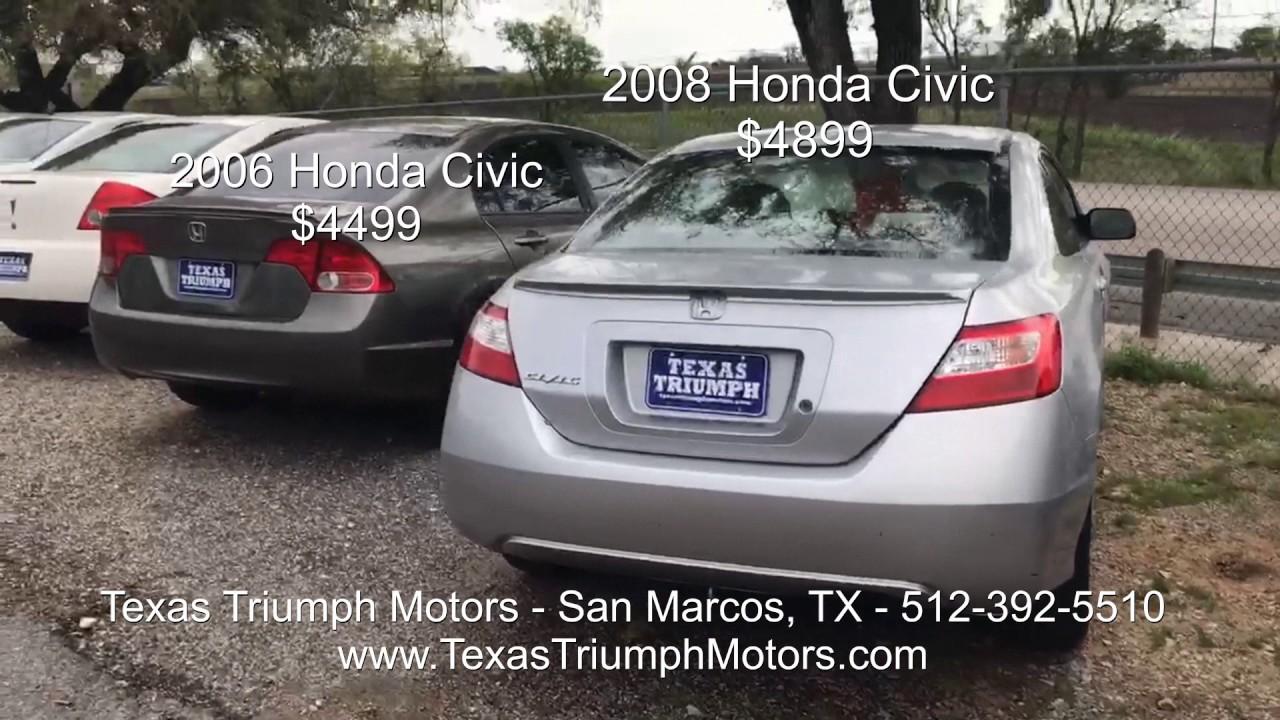 March 10th Texas Triumph Motors