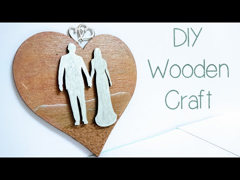 Love Heart Resin & Wood Crafts | Wedding & Anniversary Gift & Decor | Valentines Craft Ideas S1 E4