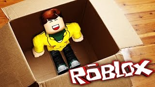 HIMSELF WITH A BOX SENDING! (Roblox)