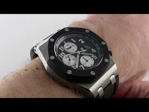 Pre-Owned Audemars Piguet Royal Oak Offshore Chronograph 25940SK.OO.01.A Luxury Watch Review