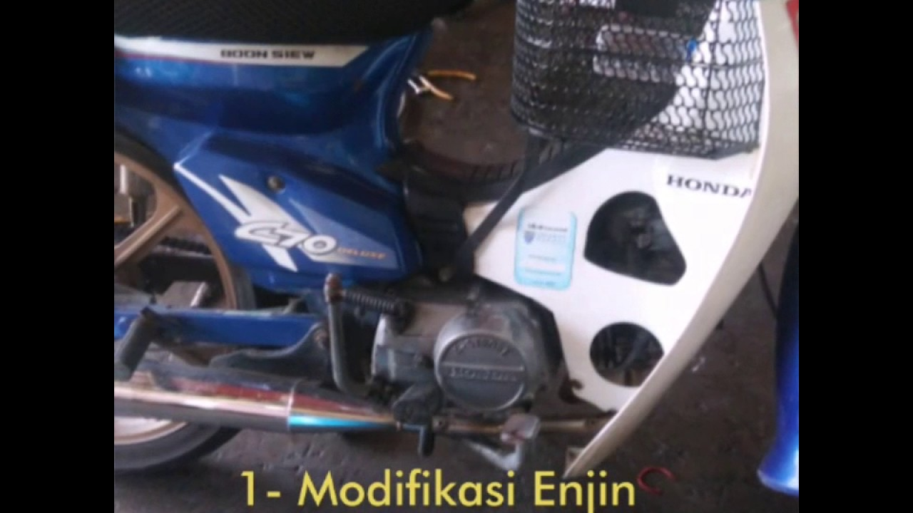 1999 Honda C70 Gbo J Restoration Youtube 1 Set