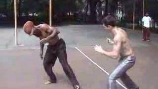 Martial Street Art: Capoeira Sparring