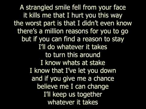 Whatever It Takes (Lifehouse song)