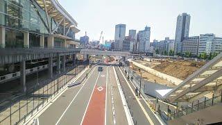【1駅間歩く!】JR山手線・京浜東北線、高輪ゲートウェイ駅⇒品川駅  Takanawa Gateway   Shinagawa