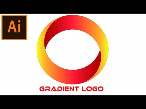 Create a Gradient Logo in Adobe Illustrator Tutorial | 04 thumbnail