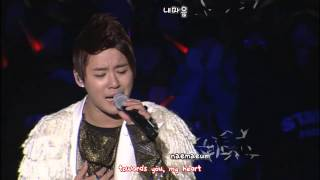 JYJ - Fallen Leaves 낙엽 [eng + rom + hangul + karaoke sub]
