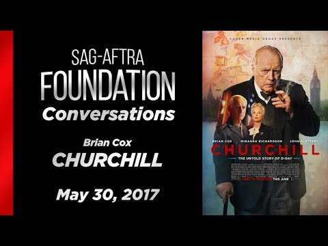 Conversations with Brian Cox of CHURCHILL