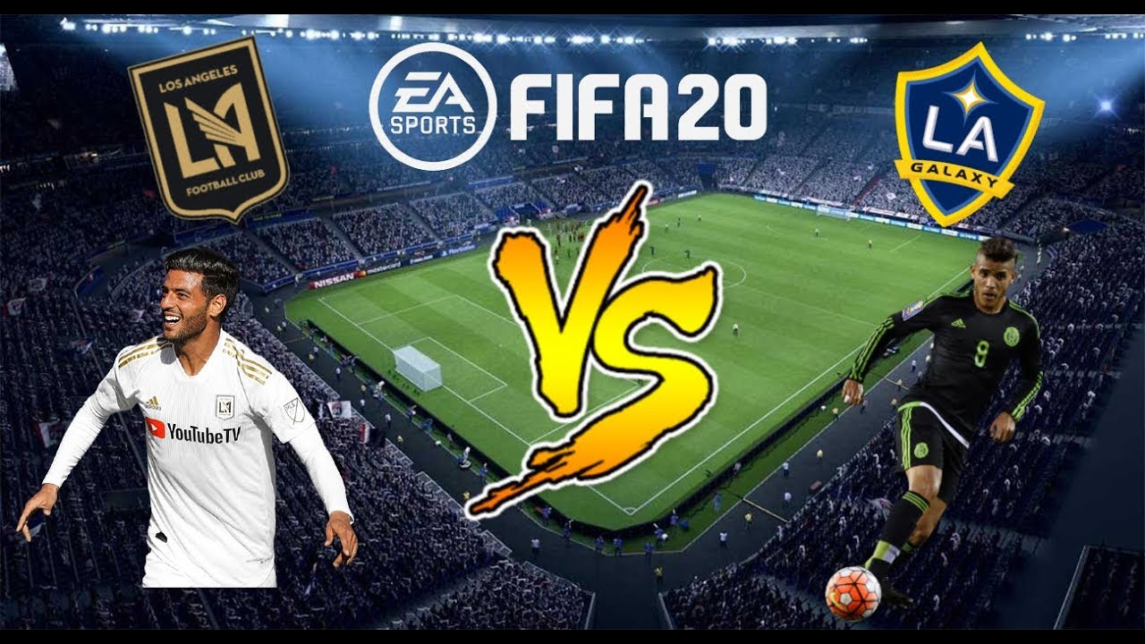 Fifa 20 Mls Improvisado Lafc Vs La Galaxy Banc Of California Stadium Youtube