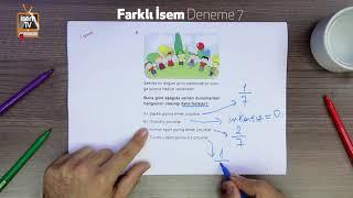 Farklı İsem Deneme 7 - Harun Hoca - Matematik