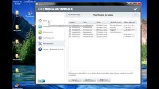 Eset Nod32 Antivirus-Actualizacion Automática