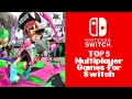 TOP 5 Multiplayer Games for Nintendo Switch
