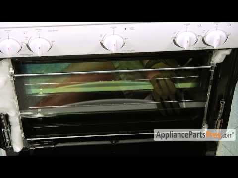 Oven Outer Door Glass (part #WPW10109950) - How To Replace