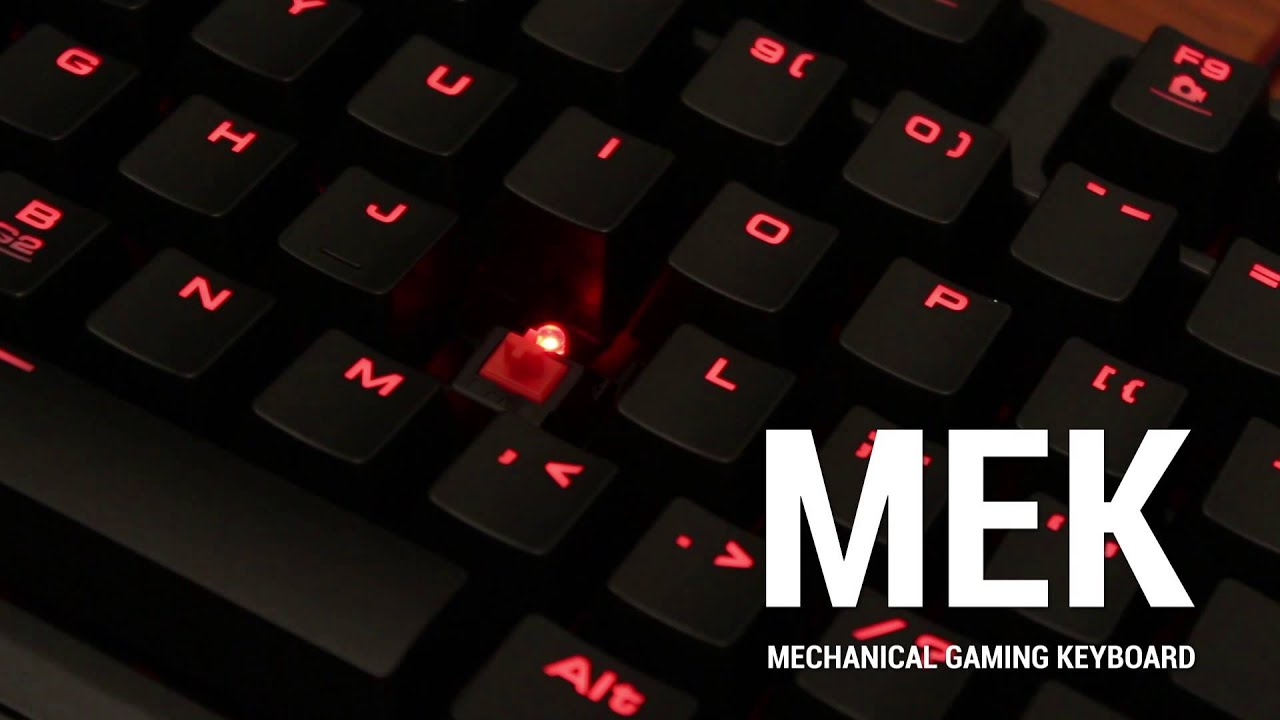 6fa5c85d608 iBUYPOWER MEK Keyboard - YouTube
